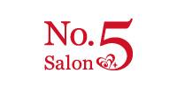 No.5 Salon(ナンバーファイブサロン)医院ロゴ